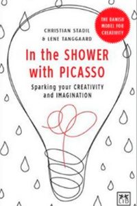in the shower with picasso