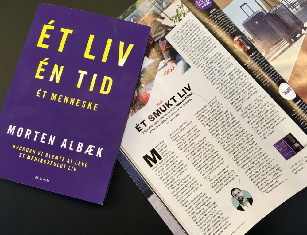 Bogudgivelse af Morten Albæk: Èt Liv. Én Tid. Ét Menneske.