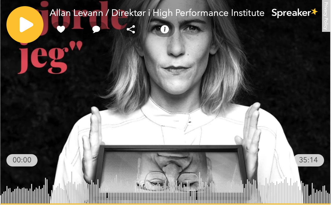 High Performance Institute, HPI podcast, allan levann